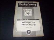 Derby County v Bristol Rovers, 1959/60